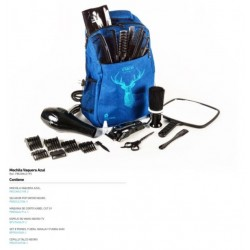 MOCHILA PERFECT BEAUTY AZUL